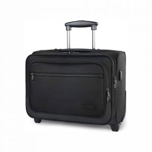 Ytonet Rolling 17 Inches Briefcase with USB Charging Port