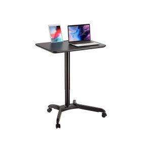 AVLT Pneumatic Adjustable Height Mobile Desk