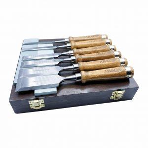 Aral 8 pcs wood chisel set