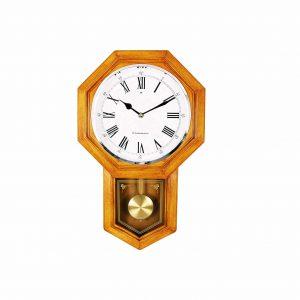 Bestime School House Pendulum Wall Clock