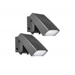 Hyperikon LED Wall Pack 50W Commercial Lights 2 Pack