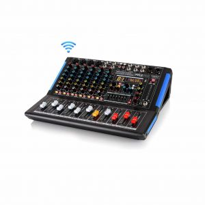 Pyle 8-Channel Studio Audio Mixer for Professional and Beginners