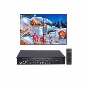 RIJER 2 x 2 USB HDMI VGA AV Input Video Wall Controller