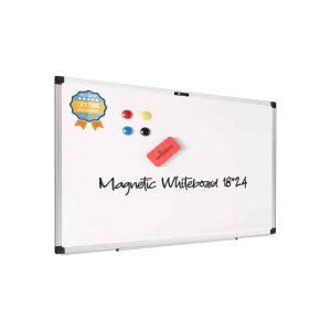 juujee Magnetic White Dry Erase Board
