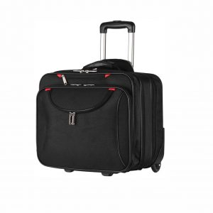 AirTraveler Rolling Briefcase Rolling Laptop Bag