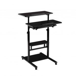 DOEWORKS Mobile Height Adjustable Desk