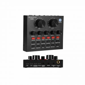REMALL Mini Sound Mixer with Several Sound Effects