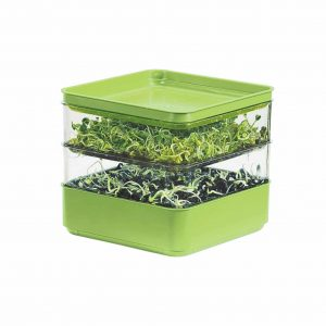 Gardens Alive! Indoor Two-Tiered Seed Sprouter for sprout growing