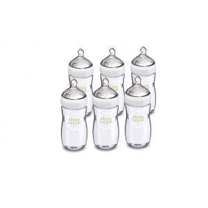 NUK 6 pack Glass Baby Bottle