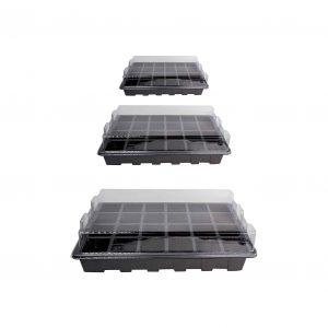 Loveday 10 Pack Grow Trays with Cell Insert and Humidity Dome