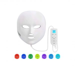NEWKEY Light Therapy Acne Mask 7 Colors Facial Skin Mask