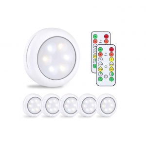 Alitade Wireless Remote Control LED Puck Light