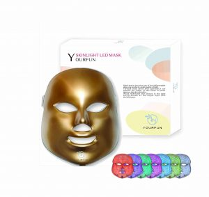 YOURFUN Pro LED Mask Photon Light Therapy Face Mask 7 Colors
