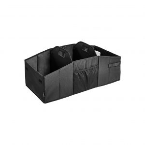 AmazonBasics Portable Collapsible Multi-Compartment Cargo Trunk Organizer