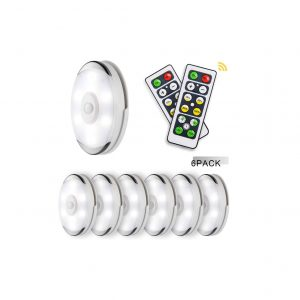 Lightess Remote Control LED Puck Lights BY5613