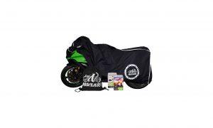 Nuzari Waterproof Motorcycle Cover – Black