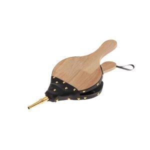 Dappre Wooden Traditional Fire Lamp Bellow