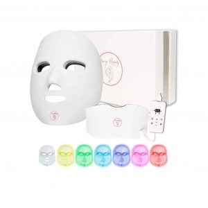 SAVVY BEAUTY LED 7 Colors Wireless Facial Skin Care Mask