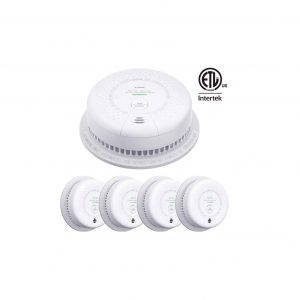 X-Sense SC03 10-Year Battery (Not Hardwired) Smoke and Carbon Monoxide Detector Alarm