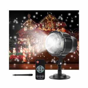 FEENGG Christmas Projector Light with RF Remote