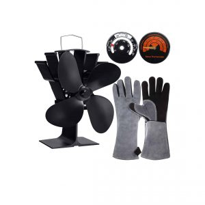 Mudder Heat Powered Stove Fan