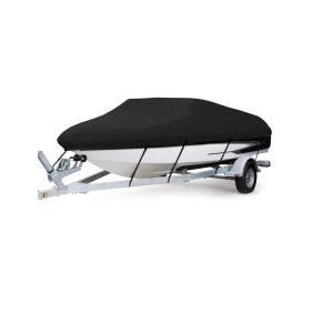 AngLink Waterproof Heavy Duty 600D Polyester Boat Cover