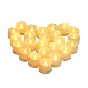 Homemory Brightness Upgrade Tea lights Candles