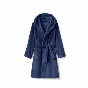 Land's End Kids Hooded Fleece Robe