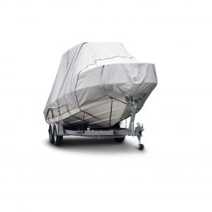 Budge 600D 22 to 22Ft Long Waterproof UV Resistant Boat Cover