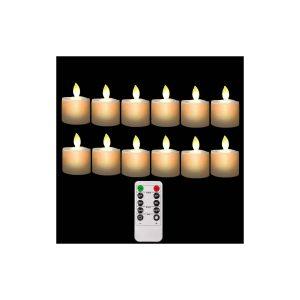 Burning Sister Flameless Remote Controlled Tea Lights Bulks
