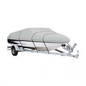 AmazonBasics V-Hull Runabouts Boat Cover