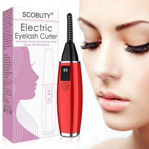 SCOBUTY Quick Heating Eyelash Curler