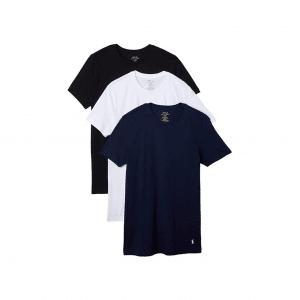 Polo Ralph Lauren Men's 3 Pack Crew Neck Undershirts