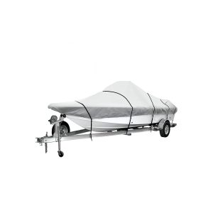 iCOVER Trailerable Boat Cover 600D Heavy Duty Boat Cover