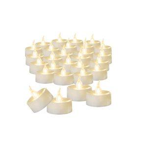Beichi Flameless Battery Operated Tea Light Candles Bulk