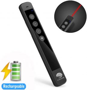 LNGOOR wireless presenter with laser pointer