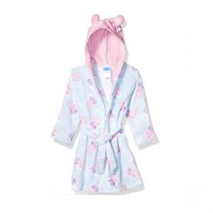 Peppa Pig Girls' Toddler Hooded Robe