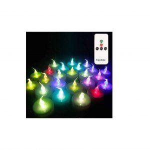 Topstone Remote Control Tea light Candles