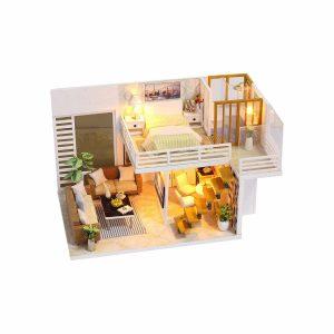 ROBOX Dollhouse Miniatures DIY Kits