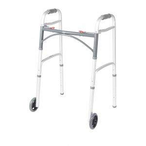 Drive Medical 10210-1 Two Button Folding Walker