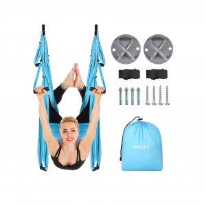 INTEY Aerial Ceiling Hanging Yoga Flying Swing
