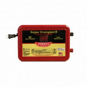 Parmak Super Energizer 5 Low Impedance Electric Fence Charger