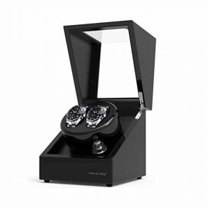 TRIPLE TREE Watch Winder Wood Shell Piano