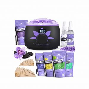 Tress Wellness Digital Display Waxing Kit