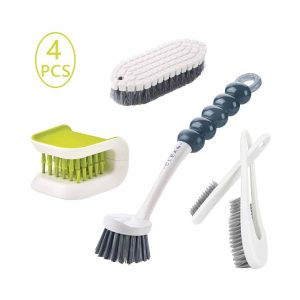 Runloon 5Pcs Cleaning Brush Set for Kitchen Household Cleaning