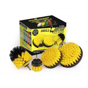 Drillbrush Nylon Power Scrubber Kit