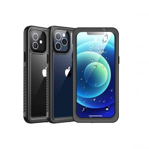SPIDERCASE iPhone 12 Case Pro with Built-in Screen Protector