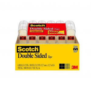 Scotch 6137H-2PC-MP Double Sided Tape