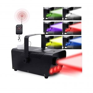 ATDAWN Fog Machine with Lights 7 Colors