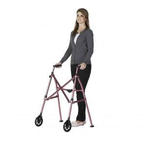 Able Life 2 Wheel Rolling Folding Walker